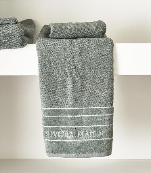 Serviette de bain RM Elegant moss 100x50