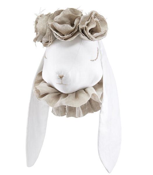Muurtrofee voor kindjes - Madame Rabbit