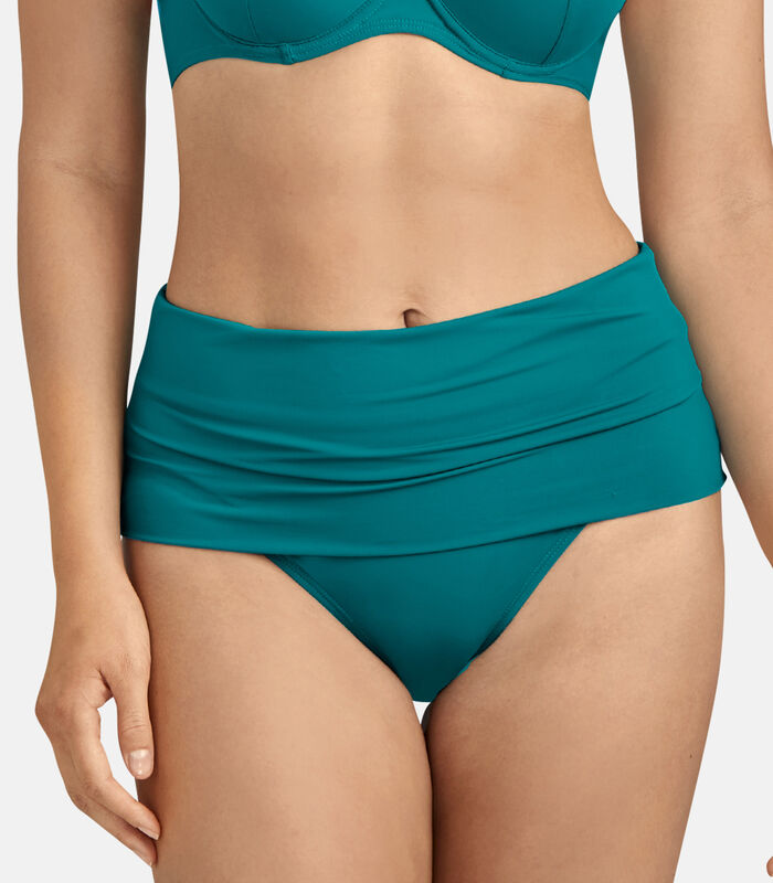 Bikinibroekje met hoge taille LA PLAGE ENSOLEILLÉE image number 1