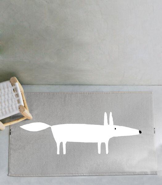 MR FOX Perle - Tapis de bain coton