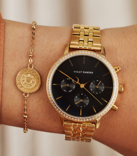 Sunrise Horloge Or VH06005