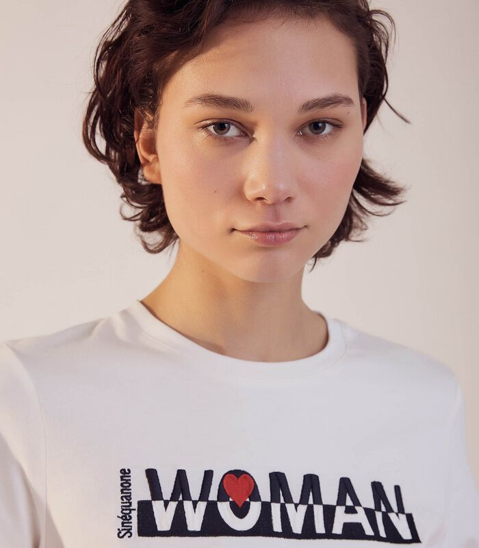Tshirt T -WOMAN image number 2