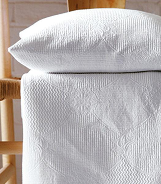 VERONE blanc - Sprei Piqué