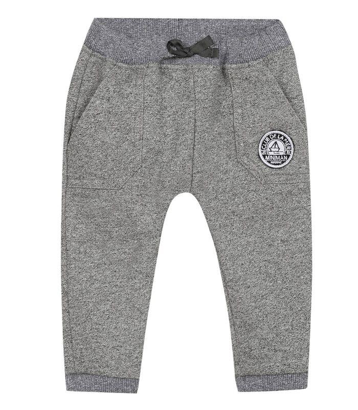 Fleece broek met elastische riem image number 0