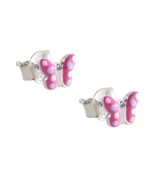 B-BABY Rhodium zilveren oorbellen