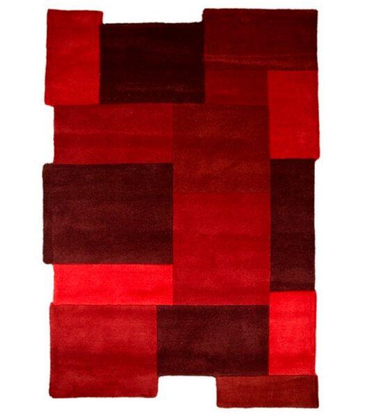 Modern vloerkleed van zuivere wol en design ARTY