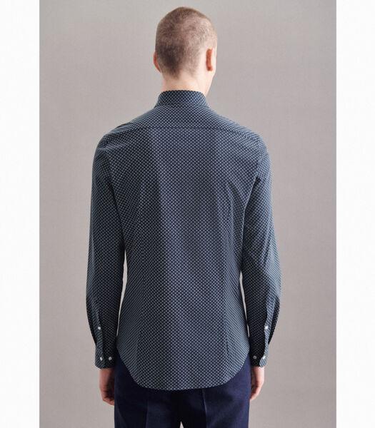 Jerseyhemd Slim Fit Lange mouwen Print
