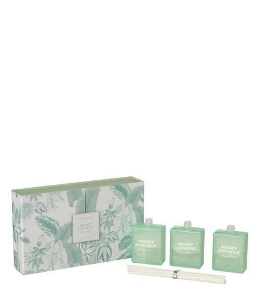 Boite 3 Huile Parfumee Monet Gardens Aqua