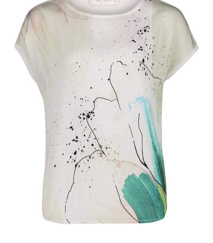 Shirt met korte mouwen met print image number 2