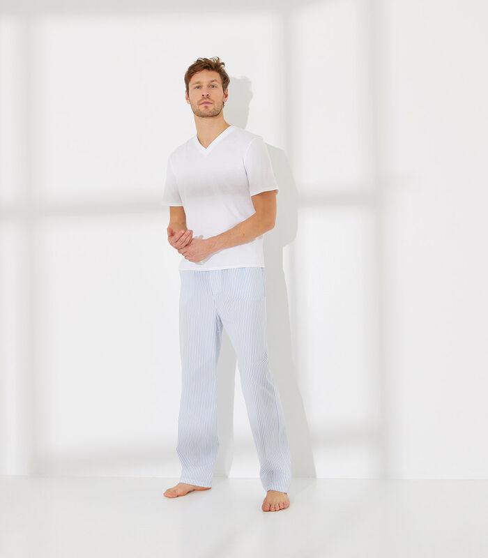 Essentiel - Homewear T-shirt met korte mouwen katoen image number 3
