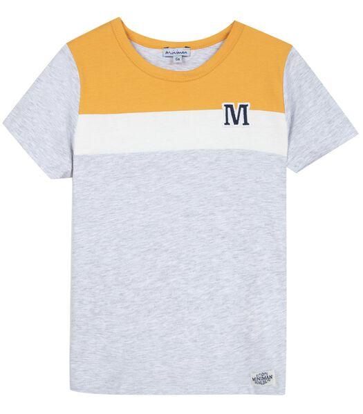 Tshirt manches courtes tricolores