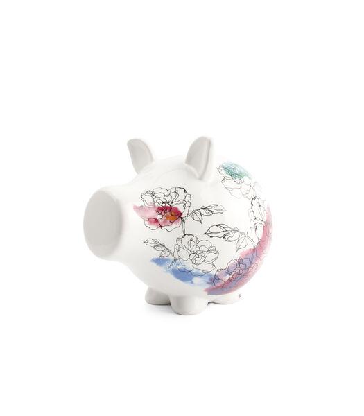 Spaarvarken Floral Oink