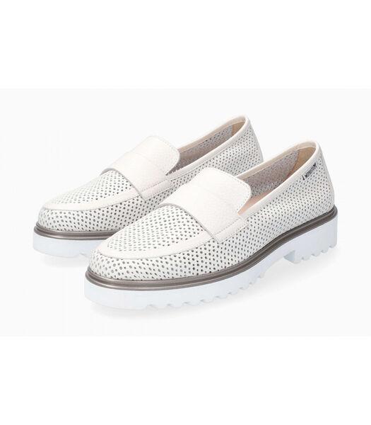 SYLVIE PERF-Loafers leer