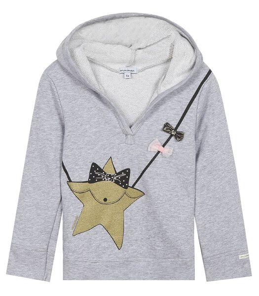 Geprinte hoodie