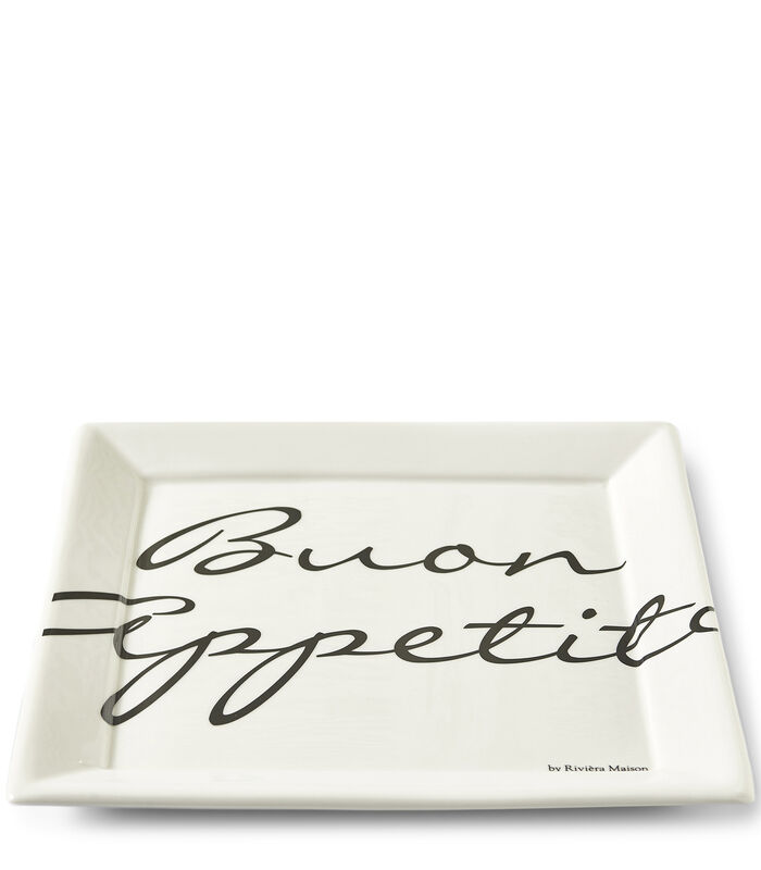 Buon Appetito Square Plate 26x26 image number 0