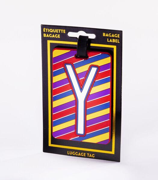 Bagagelabel - Letter Y