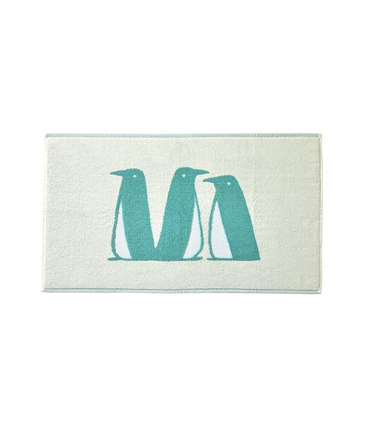BANQUISE Turquoise - Badmat coton