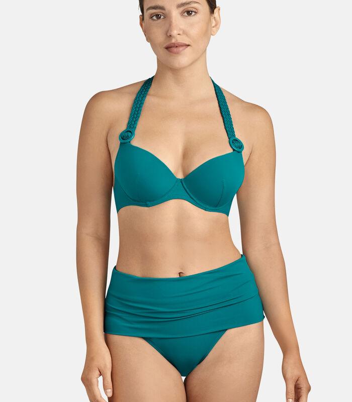 Bikinibroekje met hoge taille LA PLAGE ENSOLEILLÉE image number 0