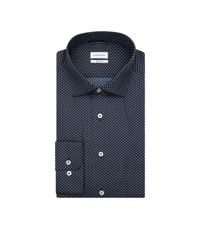 Overhemd Regular Fit Lange mouwen Print image number 4