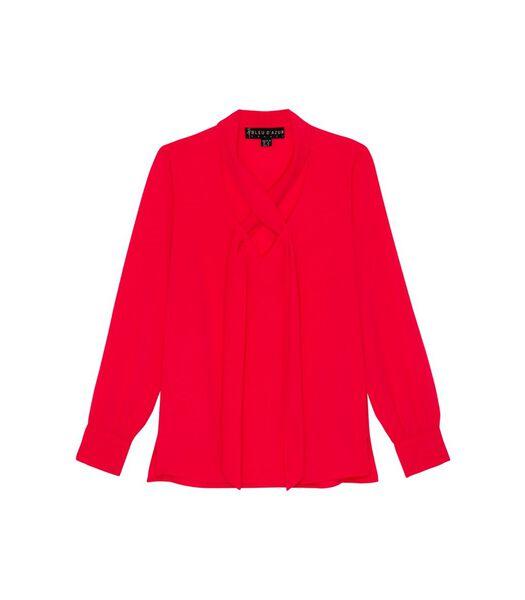 Koraal blouse TRESOR