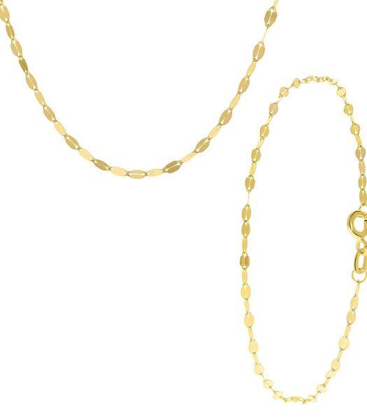 Ensemble de 9 carats avec bracelet et collier fantaisie