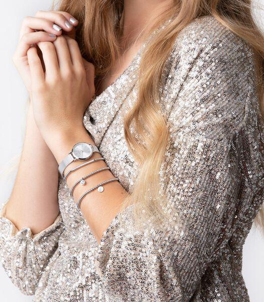 Ensemble en acier Bracelets et montres sans fin