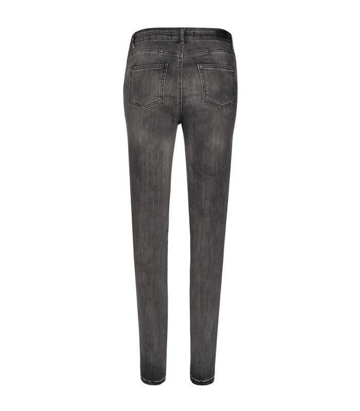 Jeans slim taille haute STREET image number 1