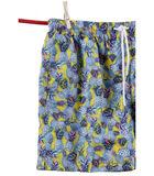 Zwemshort polyester  print Ibiza image number 1