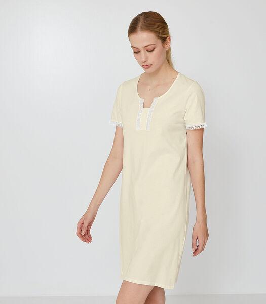Emma - Kort Nachthemd katoen