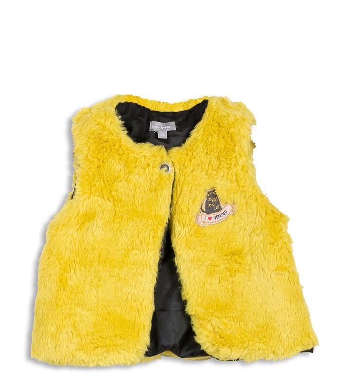 Set met 3 stuks: t-shirt, vest en rok met ruches image number 1
