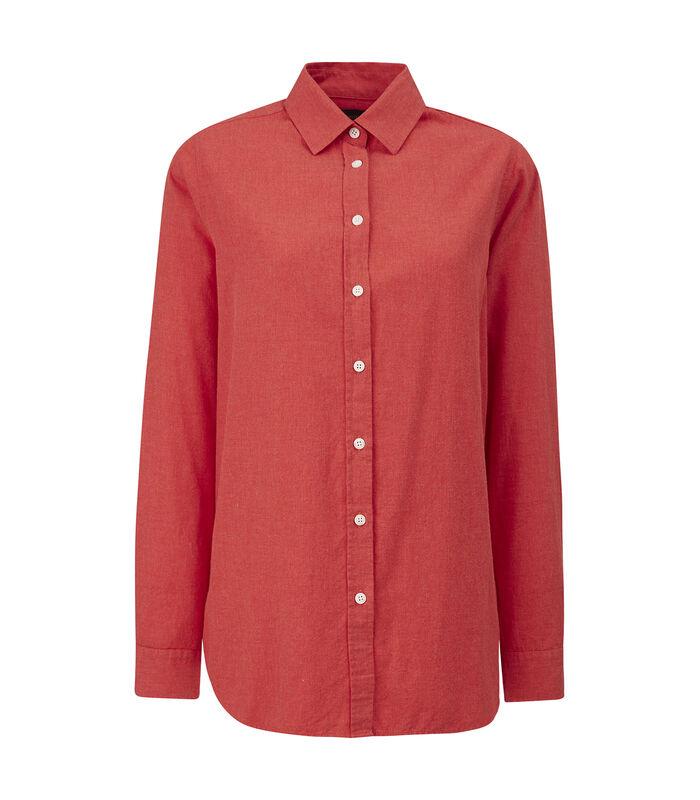 Overhemd Isa licht flanel image number 1