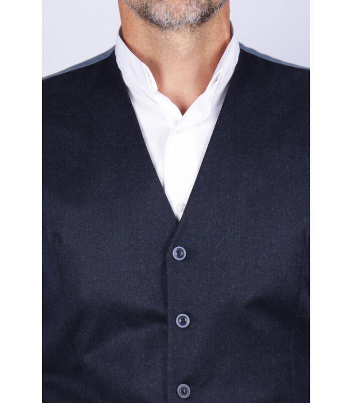 Vest wol  effen patroon image number 2