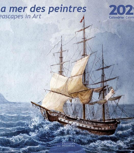 Kalender 30x30 cm La Mer des Peintres,
