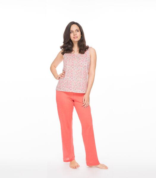 Linnen gebreide homewear broek, SARAH