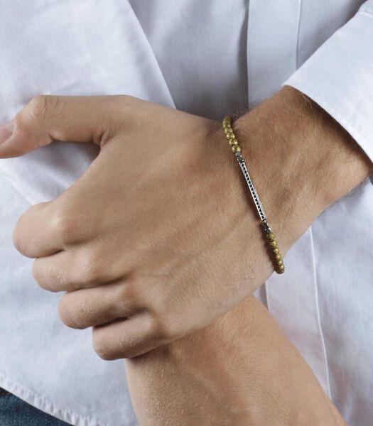 Bracelet en Acier, Ematite VINTAGE