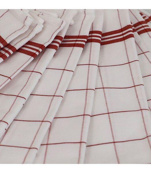 Glashanddoeken set van 12 MATHILDE