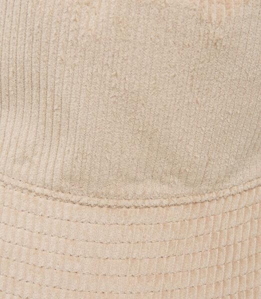 Vissershoedje van corduroy van organic cotton