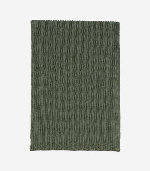 Gebreide sjaal van een zachte mix met organic cotton