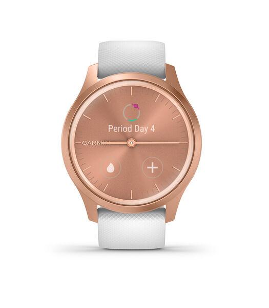 Vivomove Smartwatch Blanc 010-02240-00