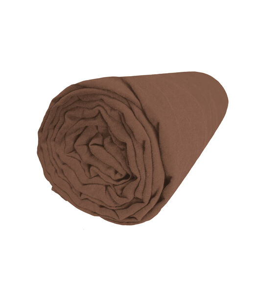 Drap housse en lin lavé bonnet 37cm - REVE DE LIN
