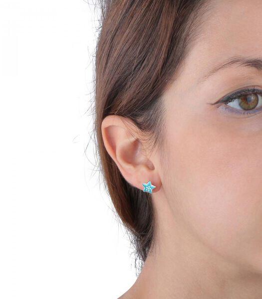 B-BABY Zilveren oorbellen
