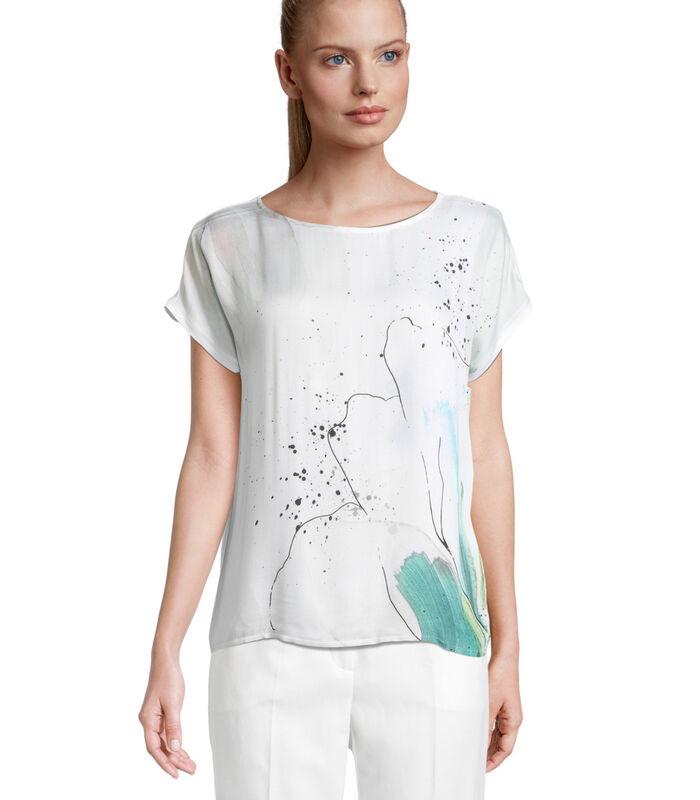 Shirt met korte mouwen met print image number 0