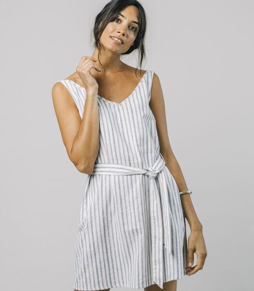Gestreepte jurk Haya