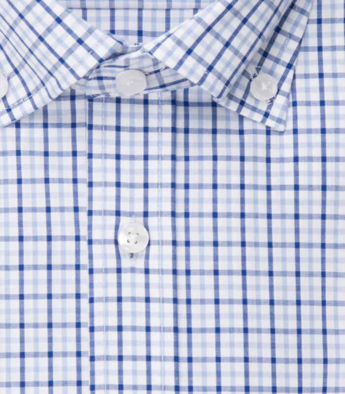 Overhemd Regular Fit Korte mouwen Geruit image number 4