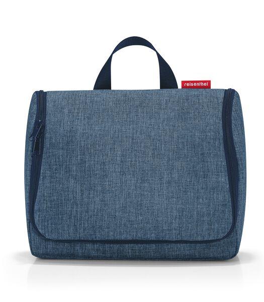 Toiletbag XL - Toilettas - Twist Blue Blauw
