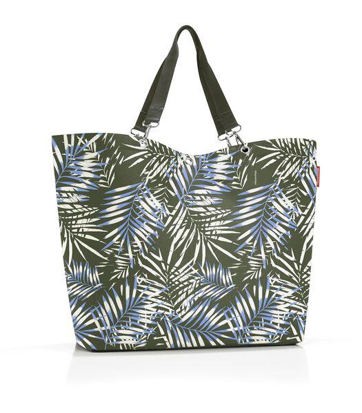 Shopper XL - Shopper - Jungle Trail Green Groen