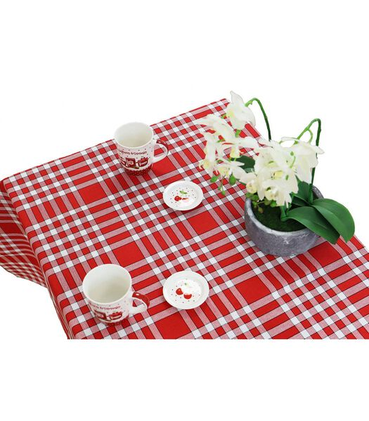 Nappe coton carreaux vichy Normand NELLY