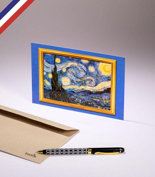 Enkele kaart - De sterrennacht van Vincent van Gogh