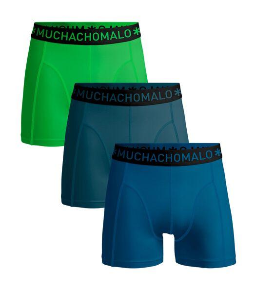 Heren 3-Pack -Boxershorts- SolidSolidSolid
