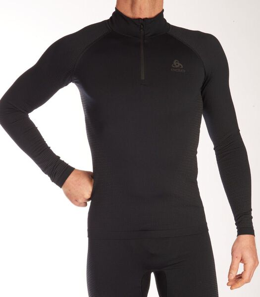 Shirt turtelneck half zip performance